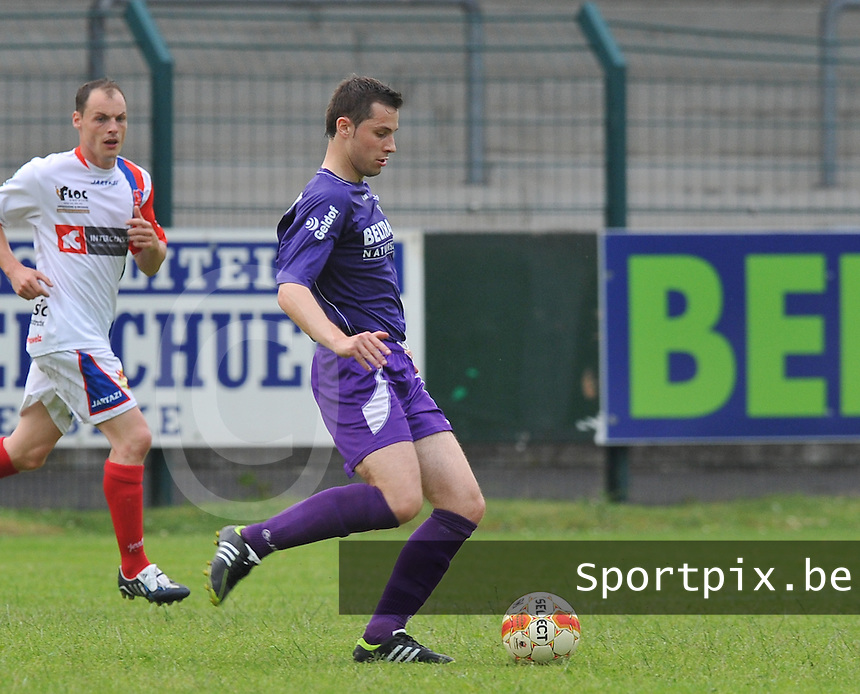 Sporting West Harelbeke : Kim Van Brabander.foto VDB / BART VANDENBROUCKE