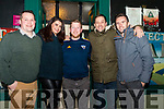 Seen viewing the Killorglin Biddys Parade outside Falveys Pub on Saturday evening<br /> L-R Chris McGillicuddy, Naomi O'Connor, David O'Sullivan, Michael O'Shea (aka Aideen Ledwith),  Sean O'Riordan.