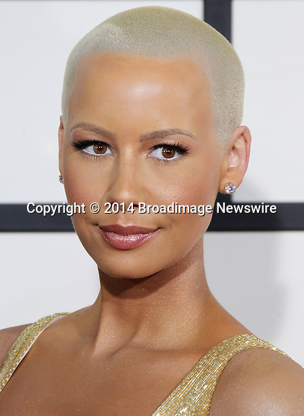 Pictured: Amber Rose<br /> Mandatory Credit &copy; Frederick Taylor/Broadimage<br /> 56th Annual Grammy Awards - Red Carpet<br /> <br /> 1/26/14, Los Angeles, California, United States of America<br /> <br /> Broadimage Newswire<br /> Los Angeles 1+  (310) 301-1027<br /> New York      1+  (646) 827-9134<br /> sales@broadimage.com<br /> http://www.broadimage.com