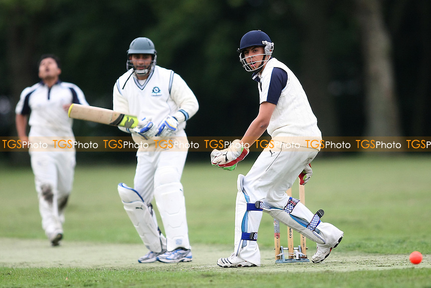 Sky v Island Community - Victoria Park Community Cricket League at Victoria Park, London - 18/07/12 - MANDATORY CREDIT: George Phillipou/TGSPHOTO - Self billing applies where appropriate - 0845 094 6026 - contact@tgsphoto.co.uk - NO UNPAID USE.