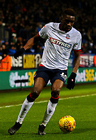 Bolton Wanderers' Sammy Ameobi<br /> <br /> Photographer Alex Dodd/CameraSport<br /> <br /> The EFL Sky Bet Championship - Bolton Wanderers v West Bromwich Albion - Monday 21st January 2019 - University of Bolton Stadium - Bolton<br /> <br /> World Copyright © 2019 CameraSport. All rights reserved. 43 Linden Ave. Countesthorpe. Leicester. England. LE8 5PG - Tel: +44 (0) 116 277 4147 - admin@camerasport.com - www.camerasport.com