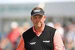 Darren Clarke lines up his putt on the 18th green during the first round of the 3 Irish Open, at the Killarney Golf and Fishing Club, Killarney, Ireland.Picture Fran Caffrey/www.golffile.ie.