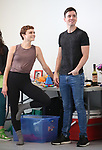 """Melaniew moore and Matt Doyle during a press Sneak-Peek for The Joyce Theater's presentation of """"Freddie Falls in Love"""" at Gibney Dance on July 15, 2019 in New York City."""