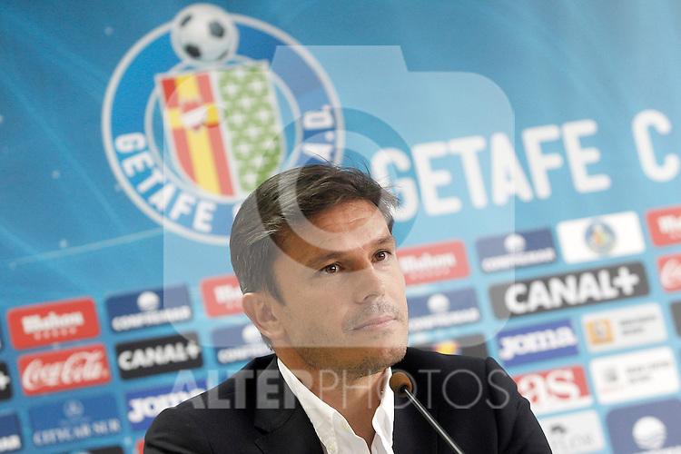 Getafe's General Manager Toni Munoz. August 2, 2013. (ALTERPHOTOS/Acero)