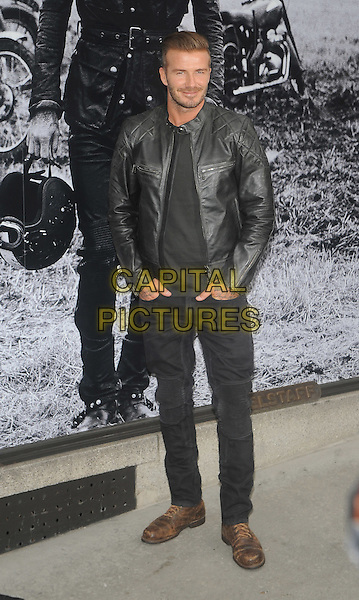 New York, NY-September 9:  David Beckham are spotted outside the Belstaff House on September 9, 2014 in New York City.  <br /> CAP/RTNSTV<br /> &copy;RTNSTV/MPI/Capital Pictures
