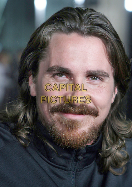 "CHRISTIAN BALE.""The Fighter"" Los Angeles Premiere held at Grauman's Chinese Theater, Hollywood, California, USA..December 6th, 2010.headshot portrait black beard facial hair.CAP/ADM/TB.©Tommaso Boddi/AdMedia/Capital Pictures."