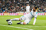 Nacho Fernandez of Real Madrid in action during the Europe Champions League 2017-18 match between Real Madrid and Borussia Dortmund at Santiago Bernabeu Stadium on 06 December 2017 in Madrid Spain. Photo by Diego Gonzalez / Power Sport Images