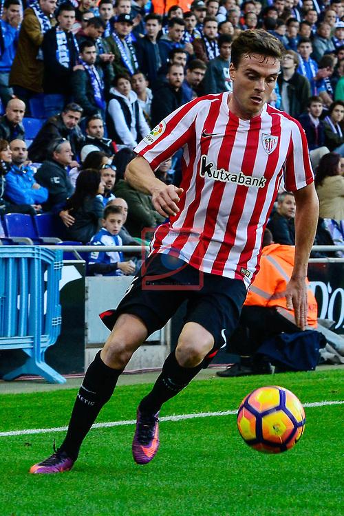 League Santander 2016/2017. Game: 11.<br /> RCD Espanyol vs Athletic Club: 0-0.<br /> Javier Eraso.