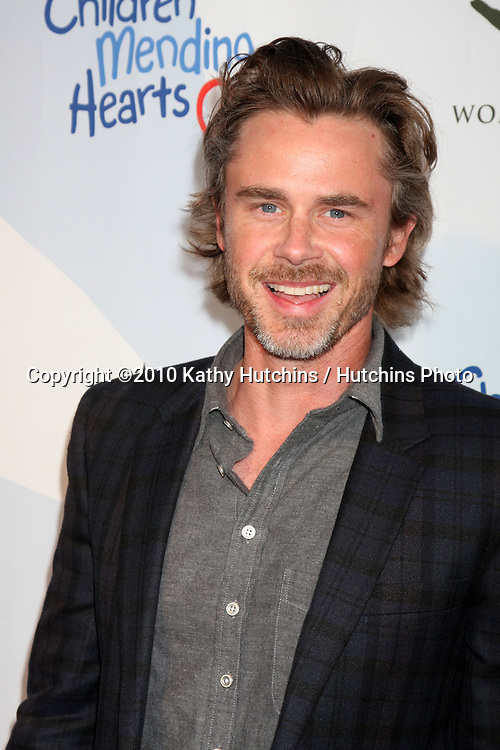 "Sam Trammell.arrives at the Children Mending Hearts 3rd ""Peace Please"" Gala.Music Box @ Fonda .Los Angeles, CA.April 16, 2010.©2010 Kathy Hutchins / Hutchins Photo..."