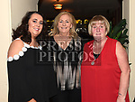 Loyola O'Rourke, Michelle Smith and Linda O'Rourke at the launch of Newtown Blues Strictly Come Dancing in Garvey's. Photo:Colin Bell/pressphotos.ie