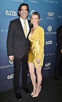 LOS ANGELES, CA - JANUARY 05: Carter Oosterhouse (L) and Amy Smart attend Michael Muller's HEAVEN, presented by The Art of Elysium at a private venue on January 5, 2019 in Los Angeles, California.<br /> CAP/ROT/TM<br /> ©TM/ROT/Capital Pictures