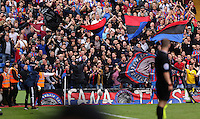 Pictured: Crystal Palace supporters<br />