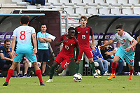 Domingos Quina of West Ham and Portugal U19's in action during Portugal Under-19 vs Turkey Under-21, Tournoi Maurice Revello Football at Stade Parsemain on 3rd June 2018