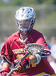 Corona Del Mar, CA 04/02/16 - Caden Wolfson (Torrey Pines #21) in action during the non-conference game between the Nike/LM High School Boys' National Western Region #4 Torrey Pines (#4) and #5 Corona Del Mar.  Torrey Pines defeated Corona Del Mar 9-8 in overtime.