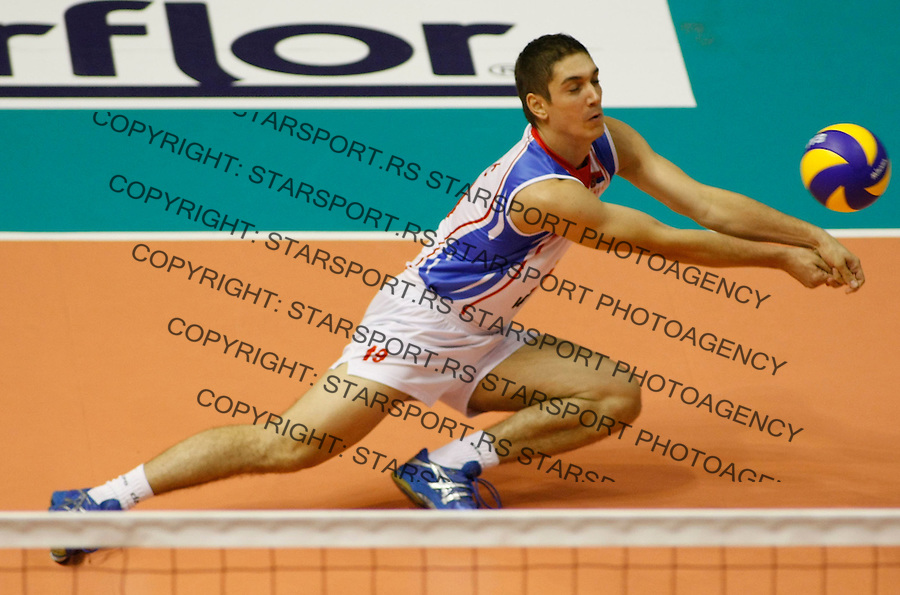 Odbojka.Serbia Vs. Cuba, tournament.Nikola Rosic.Belgrade, 08.09.2010.foto: Srdjan Stevanovic/Starsportphoto ©