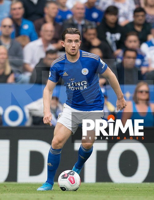Ben Chilwell of Leicester City during the Premier League match between Leicester City and Wolverhampton Wanderers at the King Power Stadium, Leicester, England on 10 August 2019. Photo by Andy Rowland.