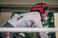 Koen de Kort (NED/Trek-Segafredo) seconds from starting his Tour de France<br /> <br /> 104th Tour de France 2017<br /> Stage 1 (ITT) - D&uuml;sseldorf &rsaquo; D&uuml;sseldorf (14km)