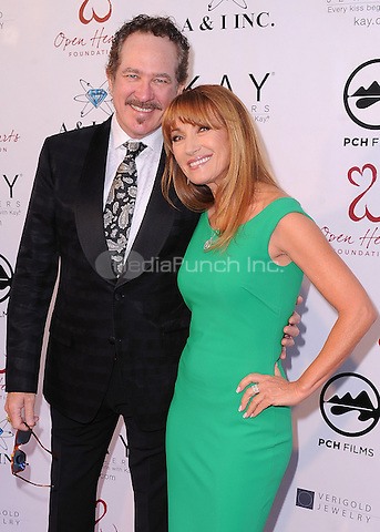 MALIBU, CA - MAY 10:  Kix Brooks and Jane Seymour at the 4th Annual Open Hearts Gala at a private residence on May 10, 2014 in Malibu, California. Credit: PGSK/MediaPunch