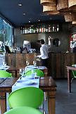 BRAZIL, Rio de Janiero, inside of Ipanema Restaurant