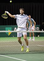 Rotterdam, Netherlands, 9 februari, 2019, Ahoy, Tennis, ABNAMROWTT,  MARTIN/SIMON Photo: Henk Koster/tennisimages.com