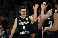 New Zealand Tall Blacks&rsquo; Jarrod Kenny in action during the FIBA World Cup Basketball Qualifier - NZ Tall Blacks v China at Spark Arena, Auckland, New Zealand on Sunday 1 July 2018.<br /> Photo by Masanori Udagawa. <br /> www.photowellington.photoshelter.com
