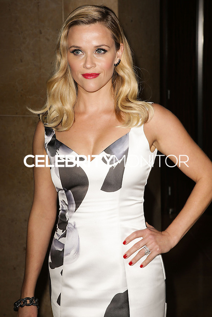 BEVERLY HILLS, CA, USA - OCTOBER 21: Reese Witherspoon arrives at the 28th American Cinematheque Award Honoring Matthew McConaughey held at The Beverly Hilton Hotel on October 21, 2014 in Beverly Hills, California, United States. (Photo by Celebrity Monitor)