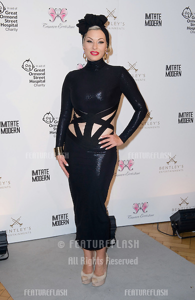 Immodesty Blaize attending a Fundraising Dinner In Aid Of Great Ormond St Hospital, at One Marylebone, London. 14/11/2011 Picture by: Simon Burchell / Featureflash