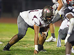 Lawndale, CA 09/29/17 - Joseph Toilolo (Torrance #51) in action during the Torrance vs Lawndale CIF Varsity football game at Lawndale High School.   Lawndale defeated Torrance 42-0.