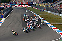 June 26, 2010 - Assen, Holland -  The 125cc riders start from the grid during the 125cc race of the Dutch Moto GP on June 26, 2010 at Assen, Holland. (Photo Andrew Northcott/Nippon News)