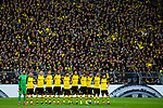 09.02.2019, Signal Iduna Park, Dortmund, GER, 1.FBL, Borussia Dortmund vs TSG 1899 Hoffenheim, DFL REGULATIONS PROHIBIT ANY USE OF PHOTOGRAPHS AS IMAGE SEQUENCES AND/OR QUASI-VIDEO<br /> <br /> im Bild | picture shows:<br /> Vor dem Anpfiff findet eine Schweigeminute zu Ehren des verstorbenen Rudi Assauer statt,  <br /> <br /> Foto © nordphoto / Rauch