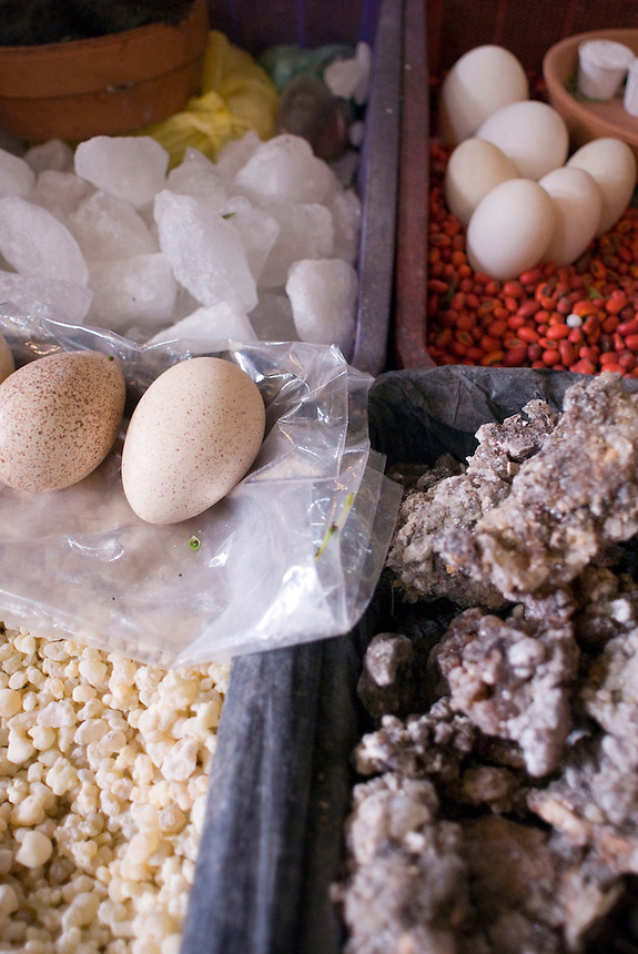 Mercado de Sonora, Mexico's black and white magic market.  La Merced, Mexico City, Tuesday, Jan. 15, 2008