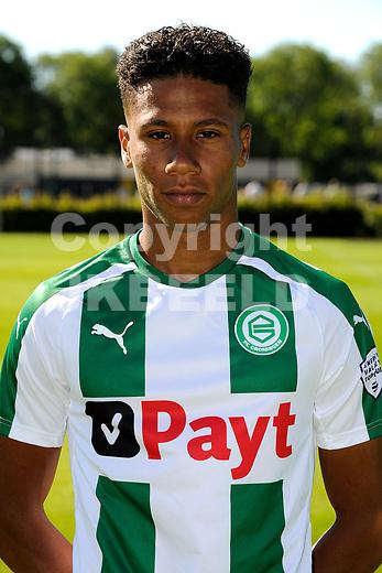 GRONINGEN - Presentatie FC Groningen o23, seizoen 2018-2019,   30-06-2018,  Rano Burger