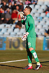 Getafe´s goalkeeper Jona during 2014-15 La Liga match at Alfonso Perez Coliseum stadium in Getafe, Spain. February 08, 2015. (ALTERPHOTOS/Victor Blanco)