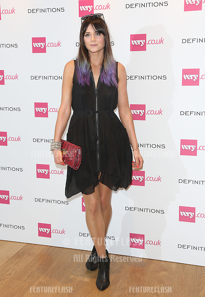 Lilah Parsons at the Launch party for Very.co.uk introducing the new fashion brand Definitions at Somerset House<br /> London. 04/09/2013 Picture by: Henry Harris / Featureflash