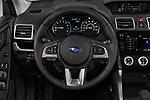 Car pictures of steering wheel view of a 2017 Subaru Forester Comfort 5 Door Wagon Steering Wheel