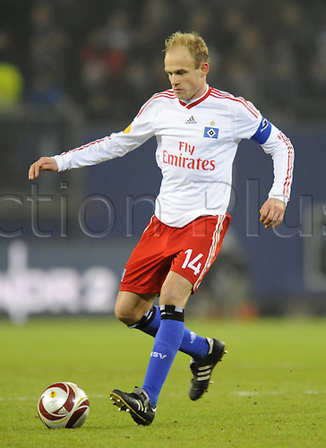 02 12 2009 David Jarolim Hamburg Individual action Football UEFA Europe League Hamburg SV SK Rapid Vienna 2 0 at 02 12 2009 in Hamburg Group stage 5 Matchday. Photo: imago sportfotodienst/actionplus - UK Editorial Only