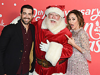 "20 November 2019 - Hollywood, California - Autumn Reeser, Jesse Metcalf. Hallmark Channel's 10th Anniversary Countdown to Christmas - ""Christmas Under the Stars"" Screening and Party. Photo Credit: Billy Bennight/AdMedia"