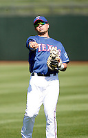 Manuel Pina - Texas Rangers - 2009 spring training.Photo by:  Bill Mitchell/Four Seam Images
