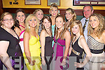 Members of Beal Ladies Football team pictured at their annual social held in The Cliff House Hotel, Ballybunion last Friday night. l-r: Mary Kennelly, Elaine O'Connell, Brenda O'Connell, Katie Purtill, Heather Moran, Caithriona Griffin, Emma Hanrahan, Joanne Rioedan, Michelle Rohan, John Farrell (Manager) and Patrice Hayes..