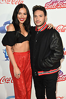 Lennon Stella and Jonas Blue<br /> at Capital's Jingle Bell Ball 2018 with Coca-Cola, O2 Arena, London<br /> <br /> ©Ash Knotek  D3465  08/12/2018