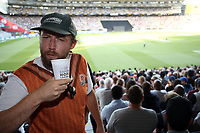 Try new Hops Lager. Pakistan tour of New Zealand. T20 Series. 2nd Twenty20 international cricket match, Eden Park, Auckland, New Zealand. Thursday 25 January 2018. © Copyright Photo: Shane Wenzlick / www.Photosport.nz