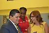 Mayor's press conference at Bruce ES