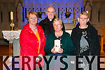 Mass For ROad Traffic Victims: Pictured in St. Mary's Church, Listowel to announce the upcoming Mass for Road Traffic Victims to be held in St. Mary's Church, Liostowel on Sunday 16th November at 9.00am were Maureen Flavin,Canon Declan O'Connor, Anne Tydings & Mary Griffin.
