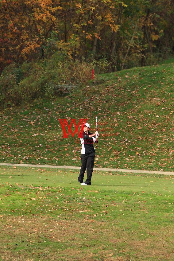 Eastern Michigan University Women's Golf Team compete in the MAC Women's Golf Preview. October 18th, 2010. Longaburger Golf Club, Nashport, OH.