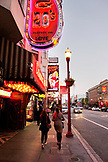 USA, California, San Francisco, strip clubs on Broadway street, North Beach