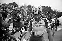 Luca Paolini (ITA/Katusha) post-race<br /> <br /> Ronde van Vlaanderen 2014