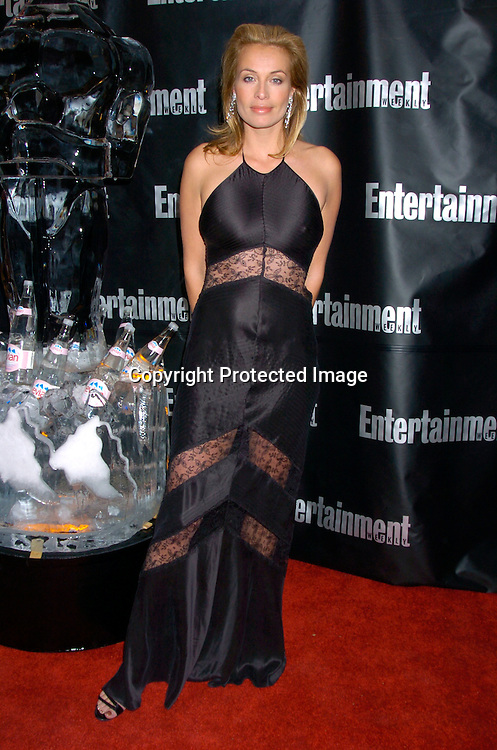 Frederique Van Der Wahl ..at the Entertainment Weekly 10th annual Oscar Party on ..February 29, 2004 at Elaine's in New YOrk City. Photo by Robin Platzer, Twin Images
