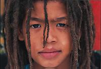 Noel, a Rastafarian boy. Knysna black township, South Africa.