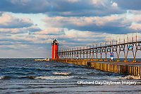64795-02518 South Haven Lighthouse early morning South Haven,  MI
