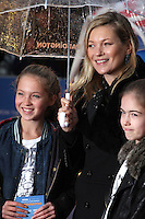 Kate Moss and daughter Lila Grace Moss arriving for the Paddington film premiere, at Odeon Leicester Square, London. 23/11/2014 Picture by: Alexandra Glen / Featureflash